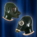 Gas masks with hood