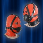 Head harness with gags rubber/latex