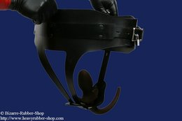 Rubber tail harness deluxe option lockable