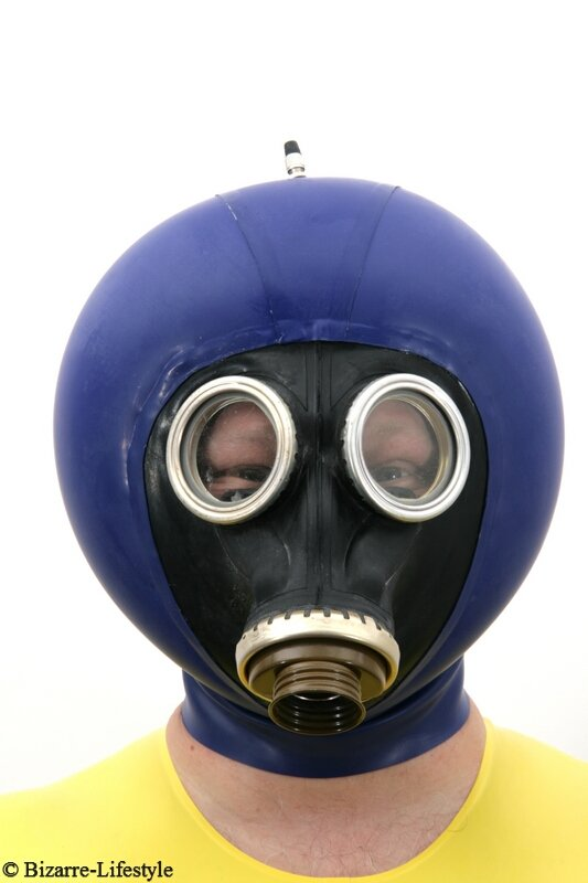 Russian Gas Mask Gp5 With Hood And Inflatable Bizarre