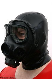 US gas mask M42 with hood, very rare rarity