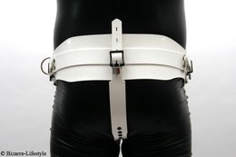 Forced belt deluxe white option lockable