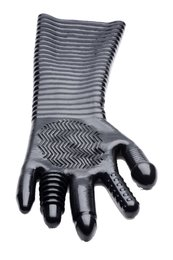 Fisting textured glove