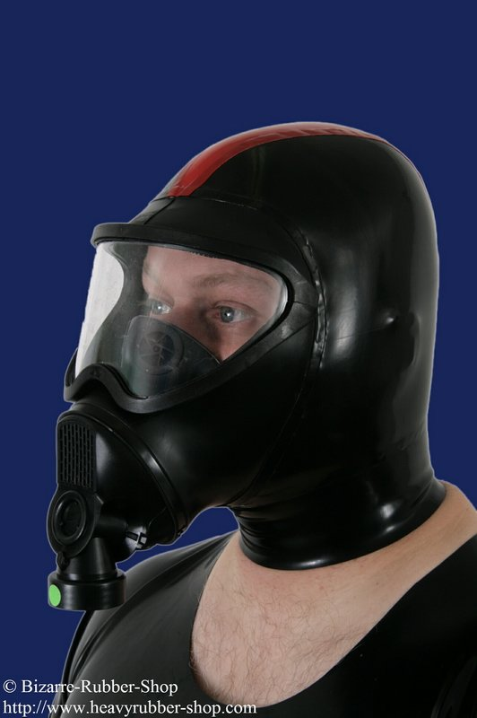 Belgian Gas Mask With Hood Bizarre Rubber Shop Latex