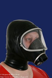 Gas mask Dräger panorama Nova with hood