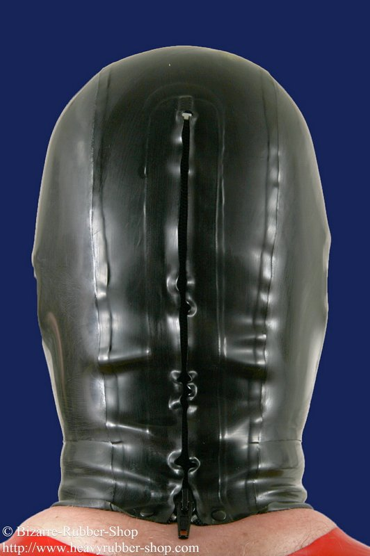 Panoramic Gas Mask Mlw With Hood Bizarre Rubber Shop