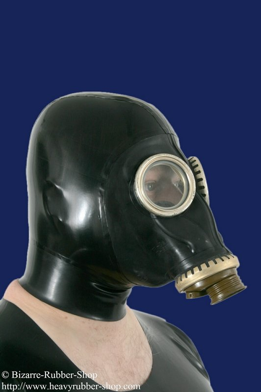 Russian Gas Mask With Hood Bizarre Rubber Shop Latex
