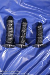Plugs/Dildos grained for plug belt lockable