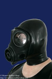 British S10 gas mask with hood