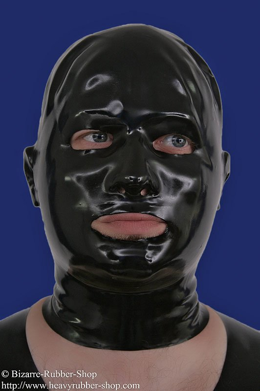 Anatomical Mask With Ears 0 6mm Bizarre Rubber Shop