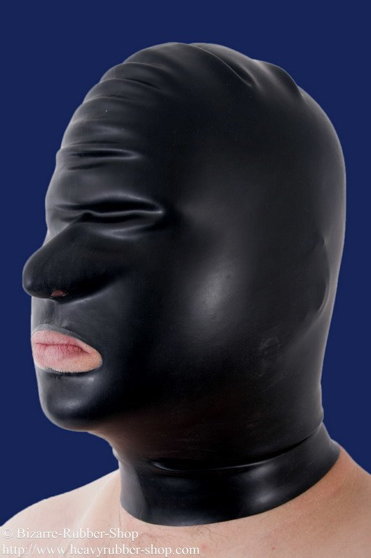 Mask Nose And Mouth Open Bizarre Rubber Shop Latex