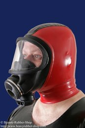 Gas mask Auer 3S with hood