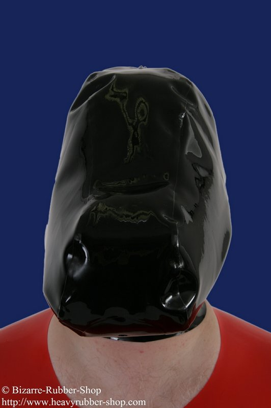 Breath control and poppers mask - Bizarre-Rubber-Shop