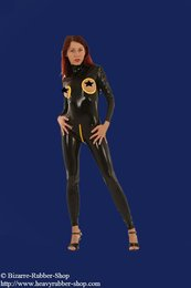 Damen Catsuit Brustfrei 0,35mm