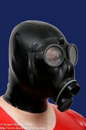Swiss gas mask SM-67 with hood