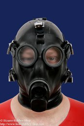 Swiss bondage gas mask SM-67 with hood